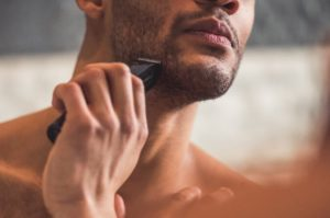 Removing Male Facial Hair